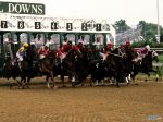 And They're Off! Churchill Downs, Louisville, Kentucky.jpg