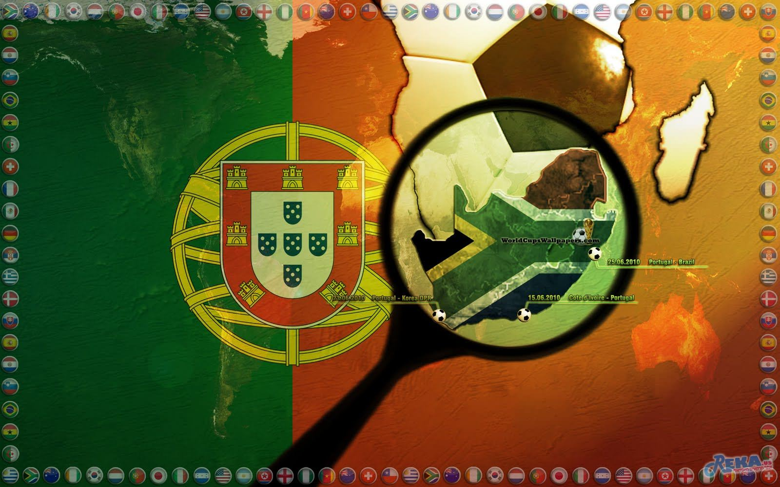 Portugal-World-Cup-2010-Widescreen-Wallpaper